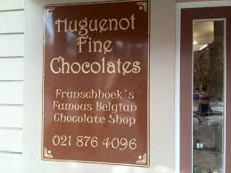 Chocolate Shop Wine Things To See In South Africa Huguenot Fine Chocolates