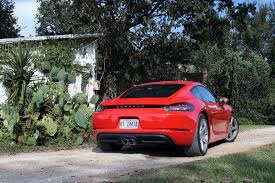 porsche cayman s horsepower 2017 porsche 718 cayman and cayman s review autoguide com