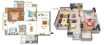 urban greek luxurious floor plan by antriksh group