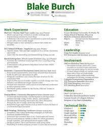 Sample College Student Resume For Internship by It Intern Resume