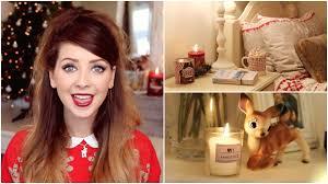 christmas bedroom inspiration zoella youtube