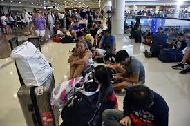 airasia ngurah rai airport airasia mas suspend flights to and from bali for second day new
