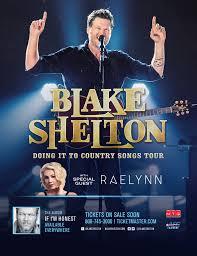 blake shelton fan club login doing it to country songs tour dates confirmed blake shelton
