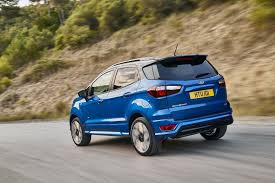 2018 ford ecosport tries to look cool with st line package in