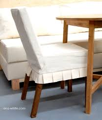outstanding ana white drop cloth parson chair slipcovers diy projects white for white parsons chairs popular