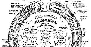 agartha map aryan myth and metahistory agharti asgard shambhala valhalla and