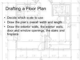 Draw A Floorplan To Scale Drafting And Dimensioning The Architectural Floor Plan Ppt Video