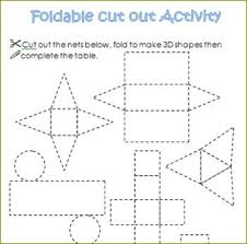 building a three dimensional shape net pictures to pin on