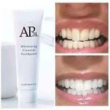 toothpaste whitening nu skin ap24 whitening toothpaste white teeth fluoride reduce