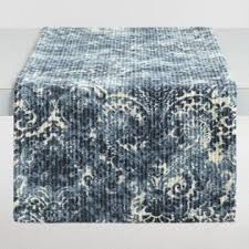 Navy Blue Lace Table Runner Tablecloths Table Runners World Market