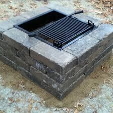 Firepit Liner Square Pit Liner Pit Ideas