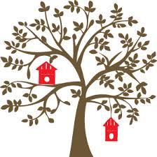 bird home tree 600 x 600 mm stknat0047 46 00 stickee wall