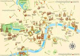 touristic map of maps top tourist attractions free printable city in