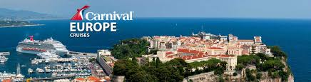 carnival europe cruises 2017 and 2018 european carnival cruises
