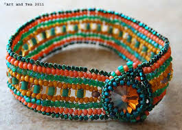 seed bead necklace clasp images Seed bead jewelry art and tea jpg