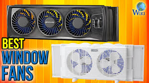 most powerful window fan 8 best window fans 2017 youtube