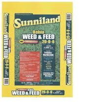 programs natural resources weeds and sunniland 20 lb bahia weed and feed 129820 the home depot
