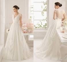 casual wedding dresses with sleeves gorgeous v neck cap sleeve chiffon lace illusion back casual