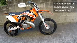 can am motocross bikes motocross to enduro conversion 1 the savage beast youtube