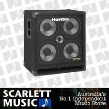 hartke 410xl bass cabinet hartke 410xl 4x10 400 watt bass speaker cabinet ebay