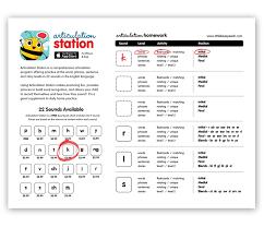articulation station homework referral sheet pdf download