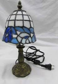 Small Table Lamps Small Stained Glass Table Lamp Foter