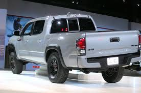 redesign toyota tacoma 2019 toyota tacoma trd pro cab redesign rumor
