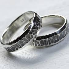 unique matching wedding bands shop unique silver wedding bands on wanelo
