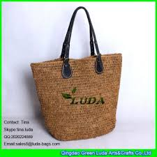 colored raffia ldlf 006 crochetting raffia tote bag customized colored