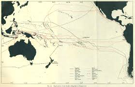 Pacific Time Zone Map Pacific Islands 1943 1945 Perry Castañeda Map Collection Ut