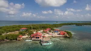 the best private island resort in belize belize pinterest