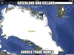 Iceland Meme - and iceland