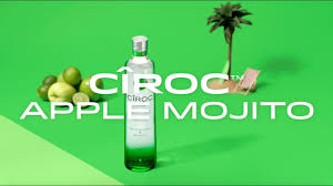 green apple martini bottle cîroc apple mojito recipe video youtube