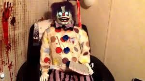 thrashing clown spirit halloween youtube