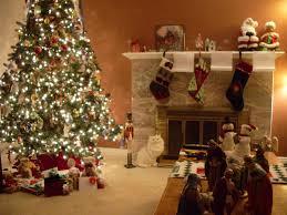 living room garland christmas tree santa claus 1215 jewcafes