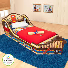 Transitioning Toddler From Crib To Bed by Amazon Com Kidkraft Toddler Pirate Bed Toys U0026 Games