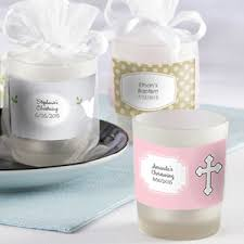candle favors frosted glass baptism candle favors aa gifts baskets