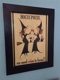 witchcraft black hat tavern halloween witch decorations signs