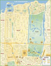 Bucktown Chicago Map by New Orleans Lakeview Map
