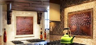 copper backsplash kitchen kitchen backsplash made of copper my copper craft