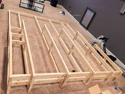 home theater riser home theater entrance bonus room diy home theater platform