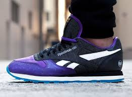 reebok classic leather purple recliner u2013 running shoes