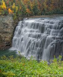 Letchworth State Park Map by Autumn Images At Letchworth State Park