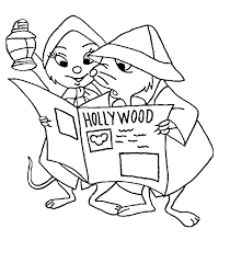 coloring rescuers coloring pages 3