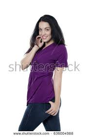 attractive middle aged women dark hair attractive young woman dark hair fair stock photo 636004988