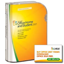 home microsoft office microsoft office home and student 2007 licensed for 3 pcs at