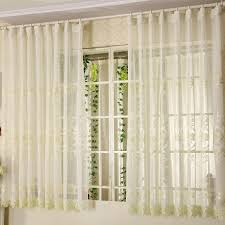 sheer window treatments short sheer curtains for bay windows in elegant