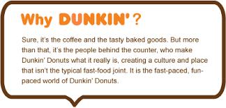 Crew Member Job Description Resume Dunkin U0027 Donuts Franchisee Of Dunkin Donuts Crew Member Job