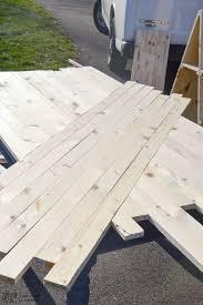 Diy Wood Plank Table Top by Diy Hack Modern Farmhouse Table Top East Coast Creative Blog