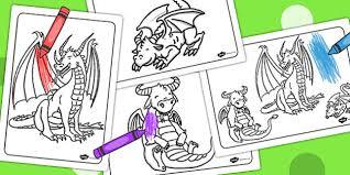 colouring sheets colouring sheets dragon colour